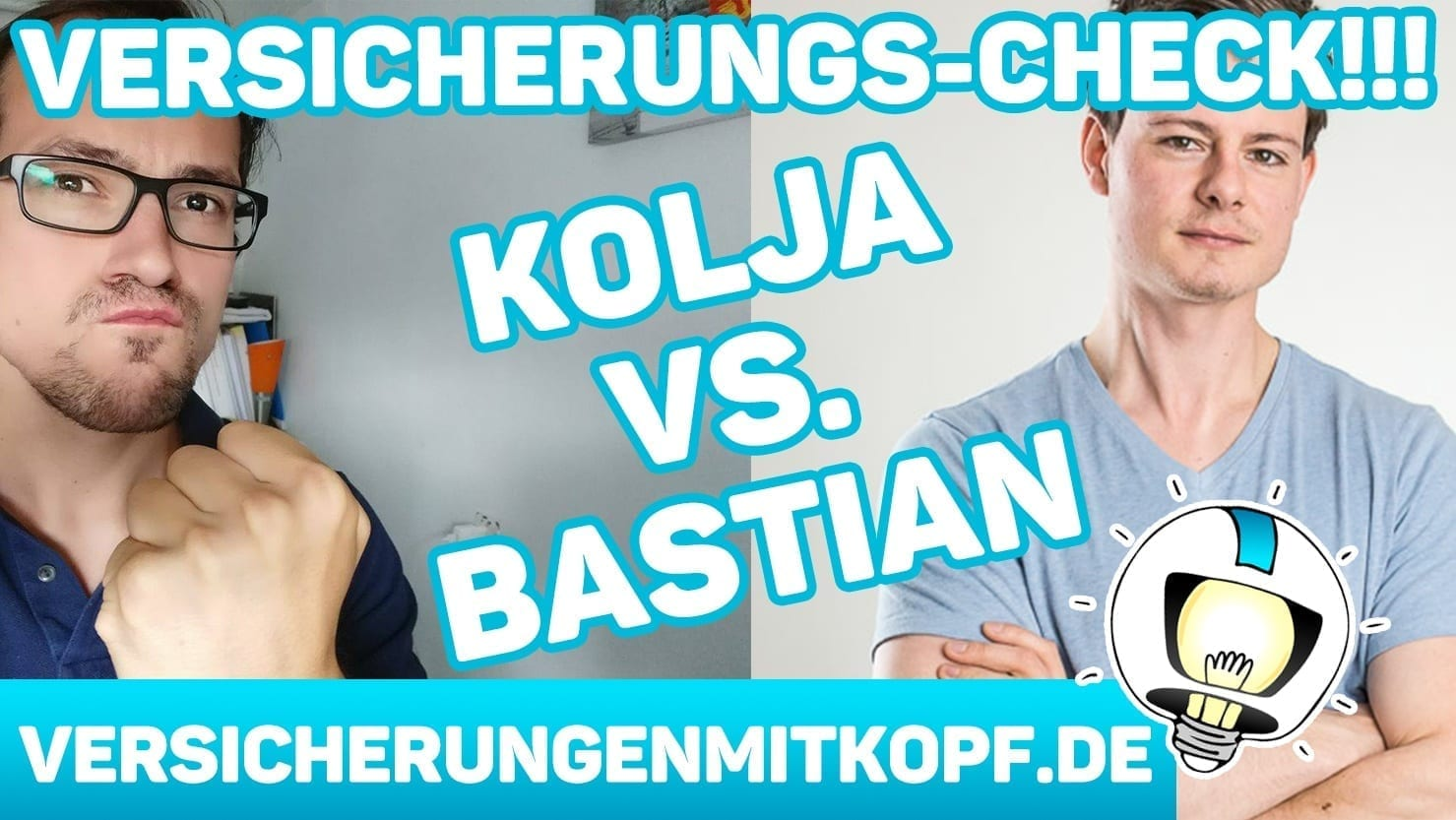 vmk thumbnail Kolja vs Bastian versicherungscheck - Welche Versicherungen haben wir selbst? Kolja vs. Bastian – DER VERSICHERUNGSCHECK