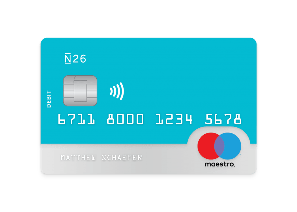 n26 cards maestro en 1024x731 - Opening a bank account in Germany | The Nr. 1 English Instruction
