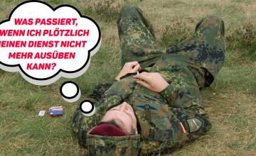 soldat DU 360x220 - Dienstunfähigkeitsversicherung für Soldaten - EINFACH ERKLÄRT