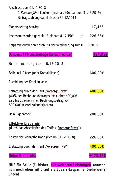 Bildschirmfoto 2018 11 22 um 21.53.24 - UKV Vorsorge Privat - 400€ für Brille und mehr