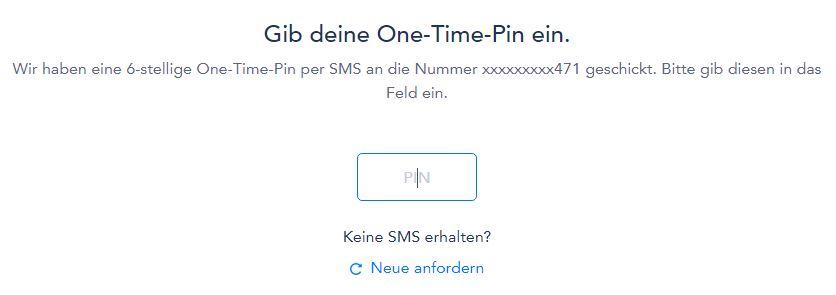 ottonova one time pin - Take out ottonova PKV online