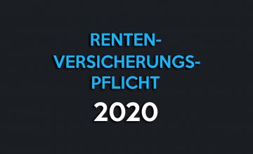 rentenversicherungspflicht selbstständige 2020 basisrente