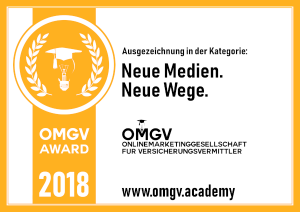 OMGV Award 2018 - Neue Wege - Neue Medien