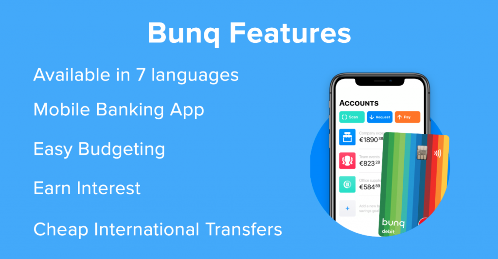 bunq account 3 1024x532 - BUNQ BANK Account