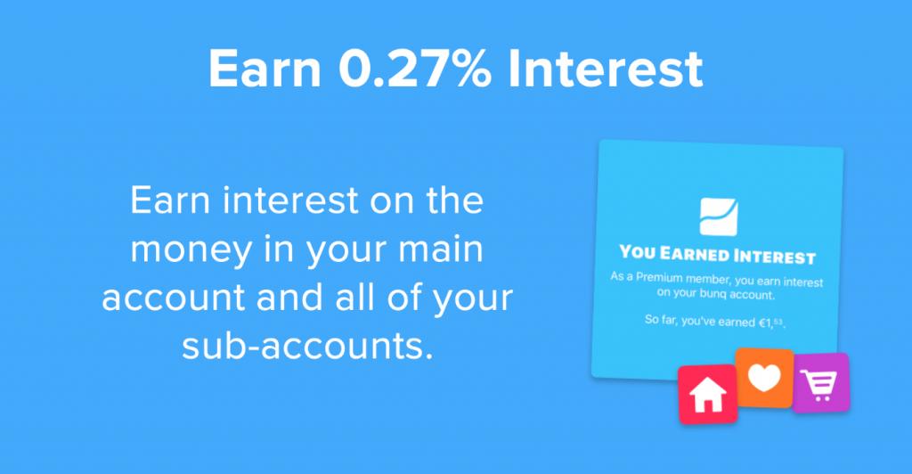 bunq account earn interest 1024x532 - bunq bank account