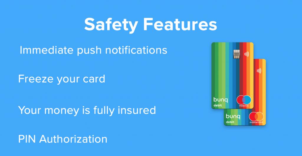 bunq account safety 1024x531 - BUNQ BANK Account