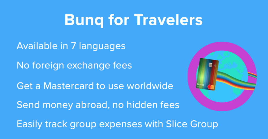 bunq account traveler 1024x531 - bunq bank account