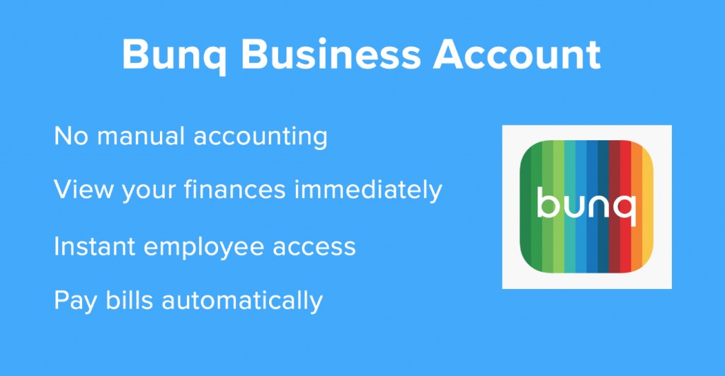 bunq business account 1024x531 - BUNQ BANK Account