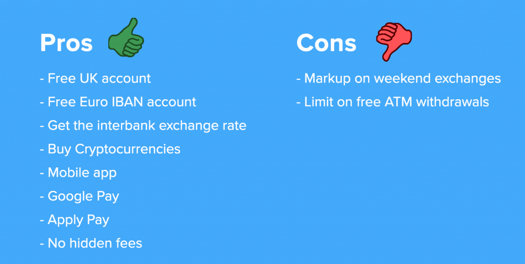 pros cons revolut account 1024x516 - REVOLUT ACCOUNT