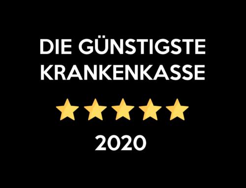 Günstigste Krankenkasse 2020