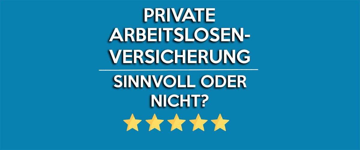 private_arbeitslosenversicherung
