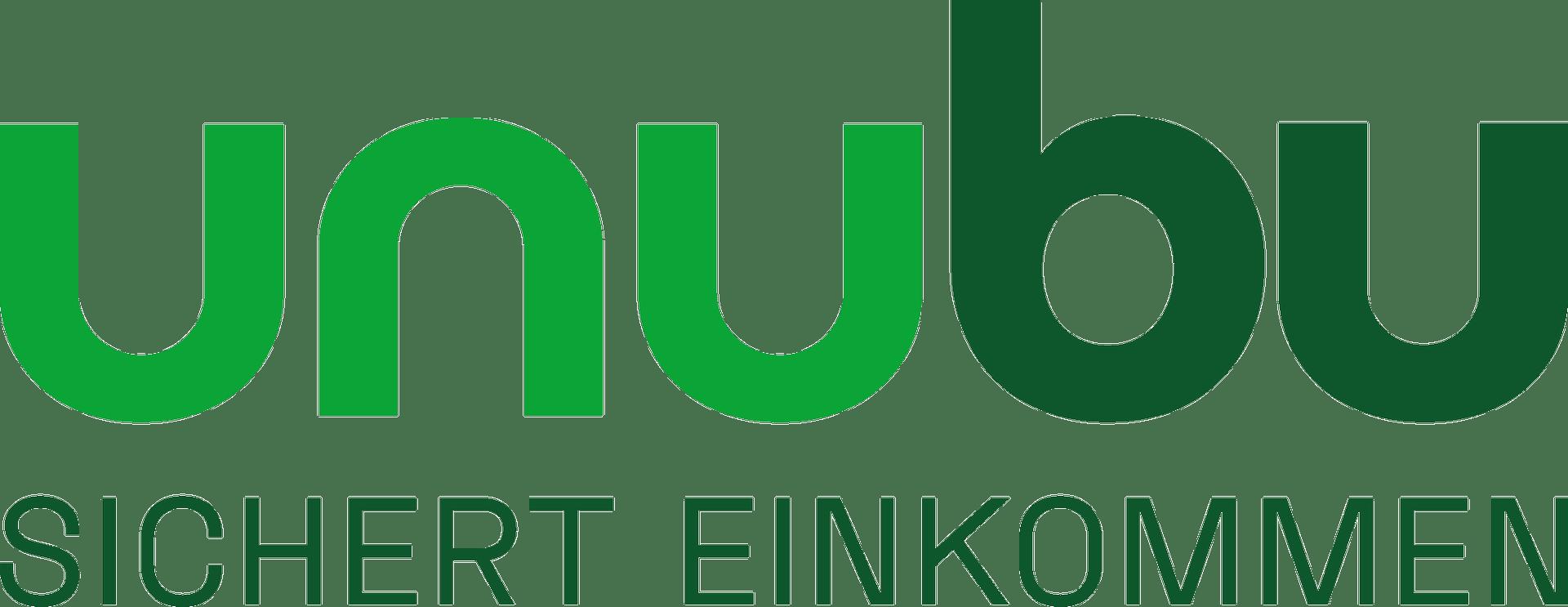 unubu logo berufsunfaehigkeitsversicherung - unubu - Kostenlose Berufsunfähigkeitsversicherung ohne Gesundheitsfragen