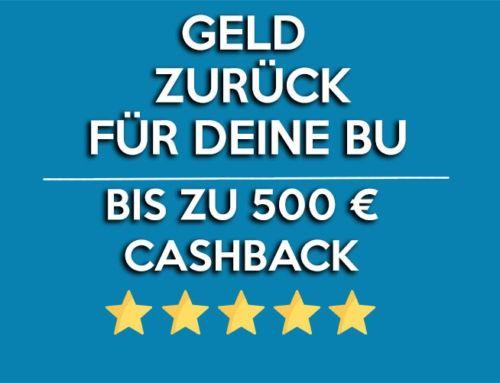 Geld zurück für deine Berufsunfähigkeitsversicherung – 500 € Cashback