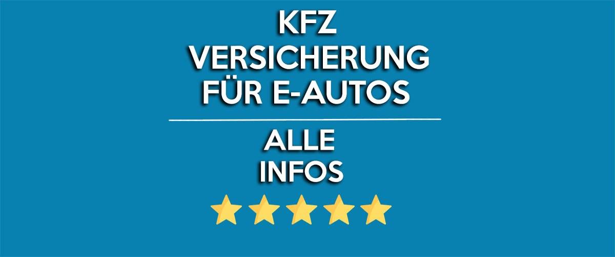 kfz versicherung fuer elektroautos - Blog